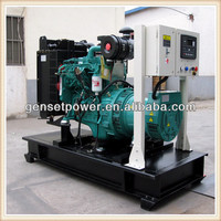 AC Power 220V Generator 45kw Diesel CSA 60hz Single Phase with Cummins Engine