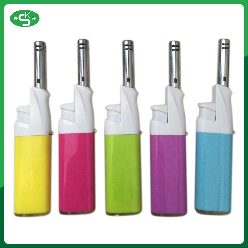 Rainbow smoke cigarette bbq Online shop China homemade lighter