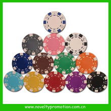 Promotional plastic poker chips