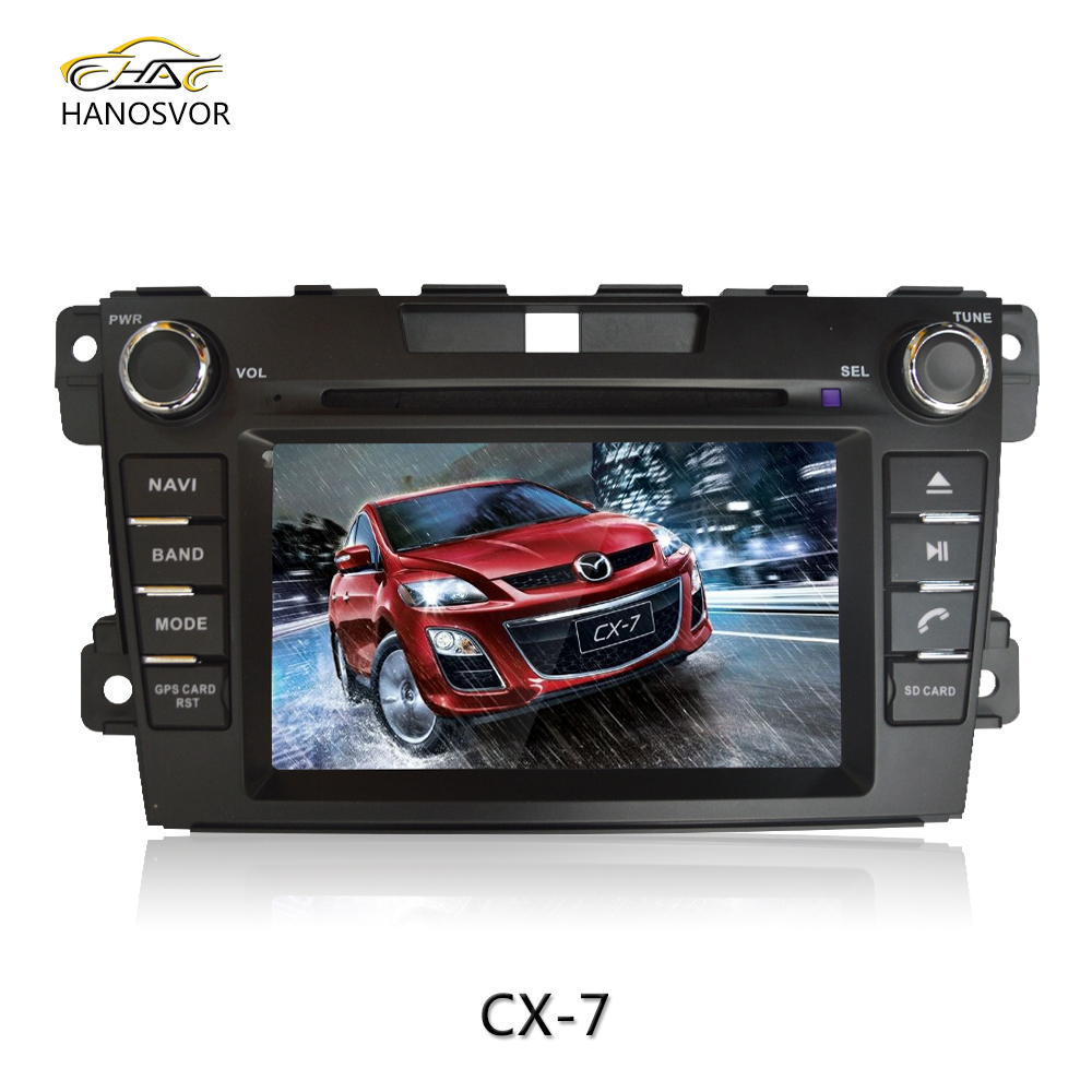 for mazda cx-7 car dvd gps navigation system with car radio audio car multimedia