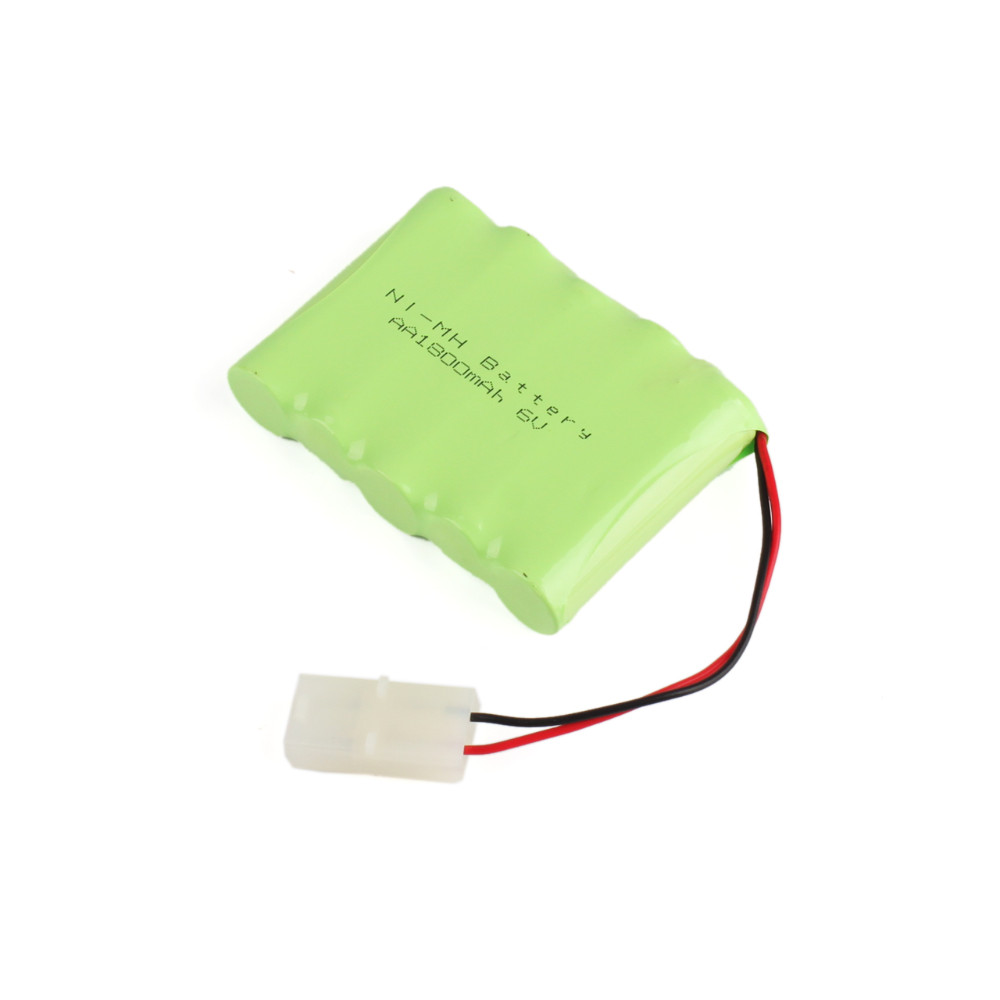 High quality Practical New AA 6V 1800MAH Ni-MH Rechargable Battery Pack