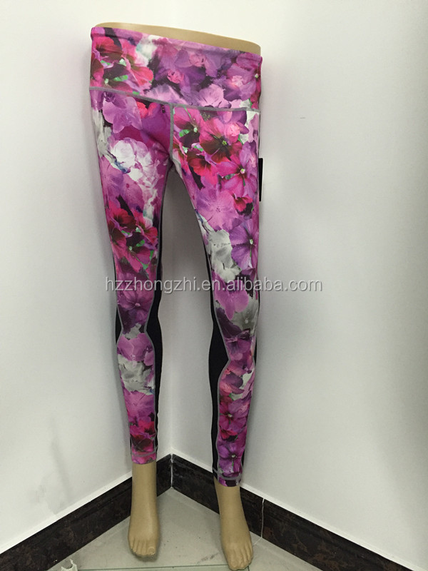 Women YOGA Running Sport Pants/High Waist yoga Leggings /Fitness Trouser