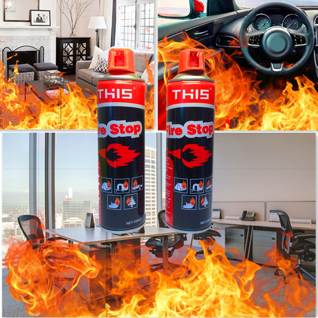 Safety foam Fire Stop 500ml MiniAuto Fire Extinguisher
