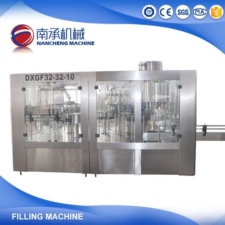 Fruit Juice Mineral Water Cup Filling And Sealing Machine with CE Standard