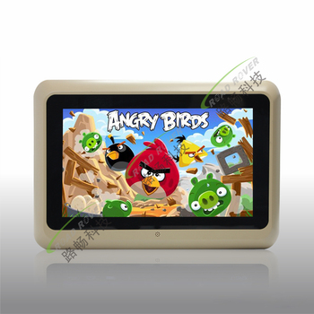 Hot sell 9 inch HD digital screen android 4.2.2 system car rear seat entertainment system