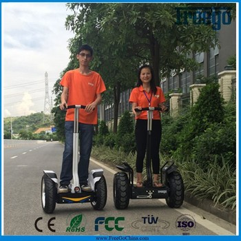 2 wheel self balancing electric scooter Freego X3 green power chariot electric scooter