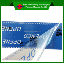 Self Adhesive Scurity Tamper Proof Packing Tape