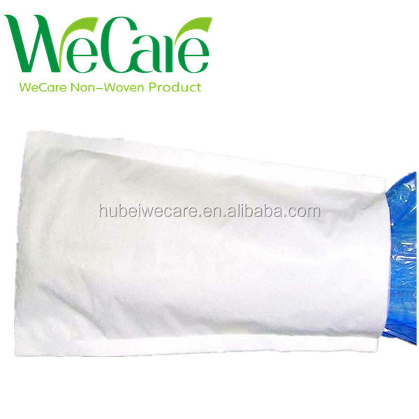 Eco-friendly non woven glove needle punched fabric environmental glove