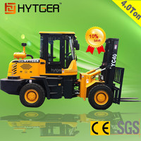 Factory Price HYTGER Hand Transmission Off Road Forklift 4 Ton