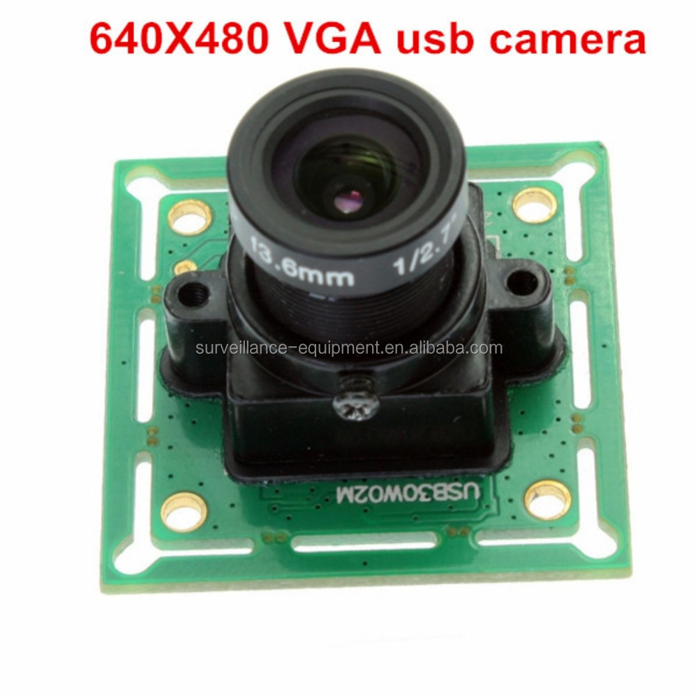 "1/4"" ov7725 CMOS mini size 640*480 MJPEG YUY2 usb machine vision camera module"
