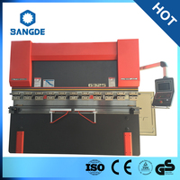 WC67K series standard CNC electro-hydraulic press brake machine
