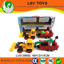 Hot-selling friction car toy bulldozer farm tractor price for sale