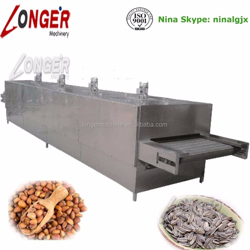 Top Quality Sunflower Seeds Roasting Line Pumpkin Seeds Roasting Machine