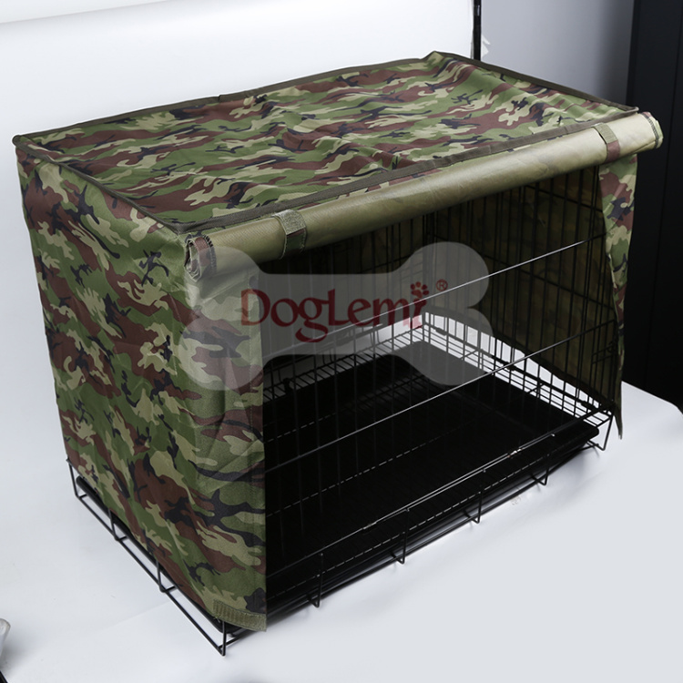 Waterproof Pet Crate Cover for Wire Crate Dog Kennel Cage Cover 4sizes Accessories