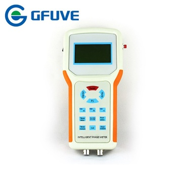 GF211B Multi-function Double Clamp Digital Phase Angle Meter