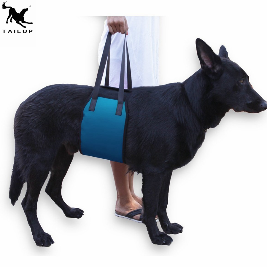 Dog Accessories Pet Dog Lift Support Halter Harness for Canine Aid Large Dogs Outdoor Assist Sling for Mobility