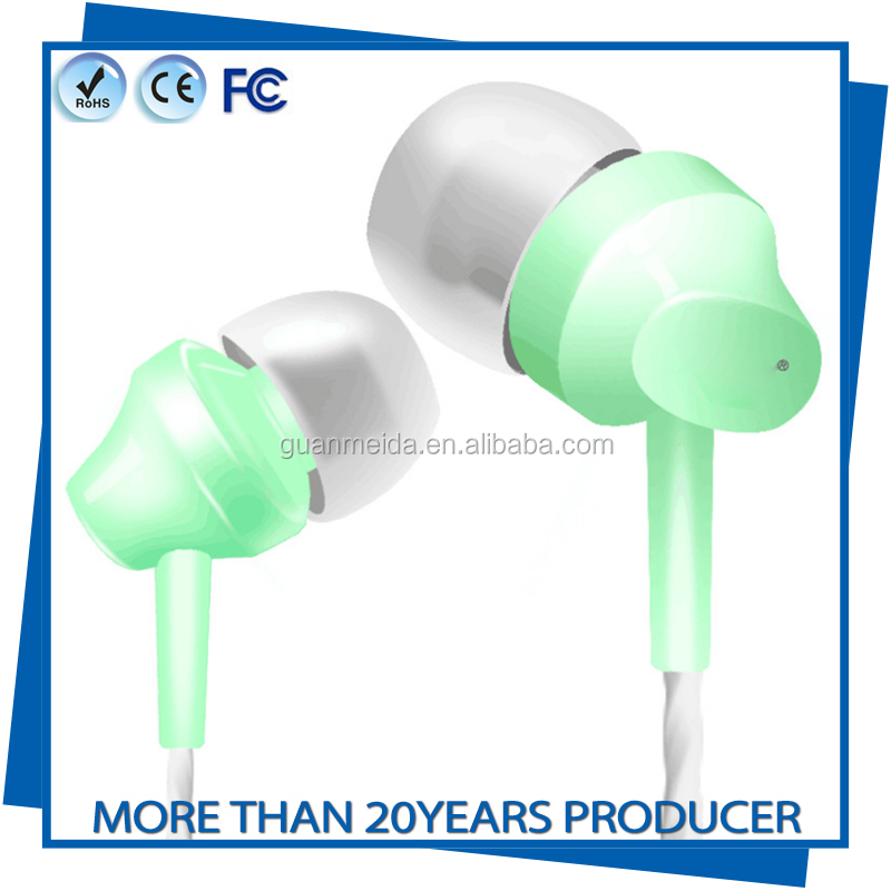 The highest definition fashion design headset Ultra-small in-ear charming earphones in ear