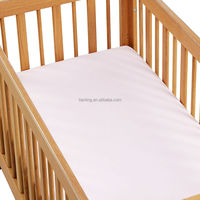 200 Thread Count Pure Cotton Fitted Sheet