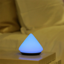 Mini colorful style usb rechargeable silicone baby night light