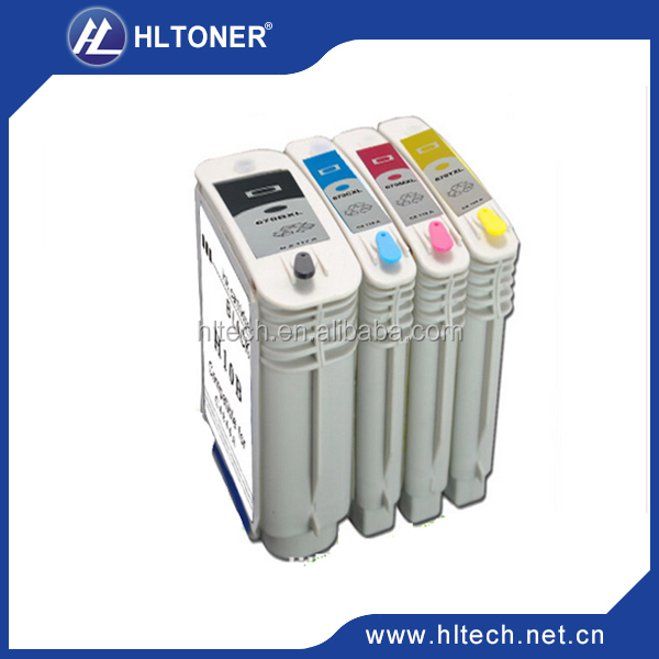 Compatible ink cartridge for H-C4840A(H10)(C4840A)/H-C4841A(H10)(C4841A)/H-C4842A(H10)(C4842A)/H-C4843A(H10)(C4843A)