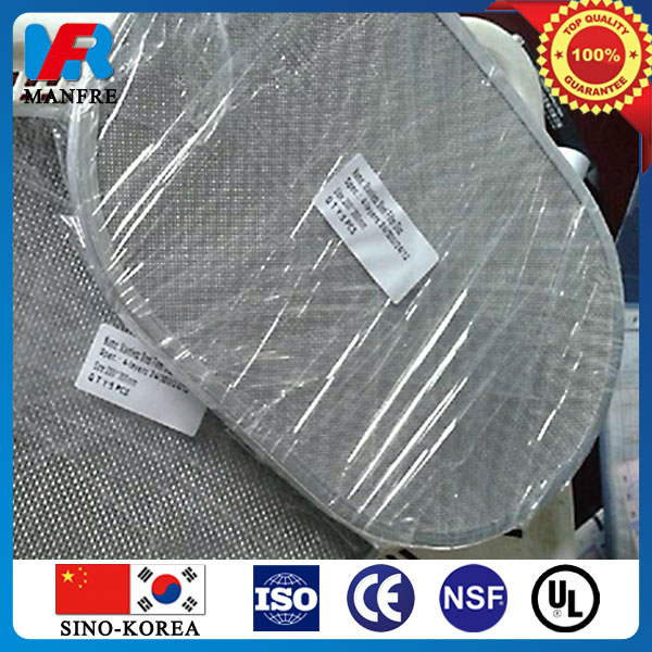 stainless steel filter disc by korea sintering technology