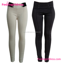High Stretch Curvy Fit Jeans Non Denim Pants