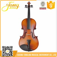 Musical Instrument China High Quality Spruce Baroque Violin