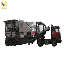 Mobile gypsum Stone Crushers For cement plant