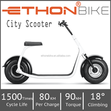 Ethon Bike city scooter 80km range Adult Electric Scooter, Electric motorcycle