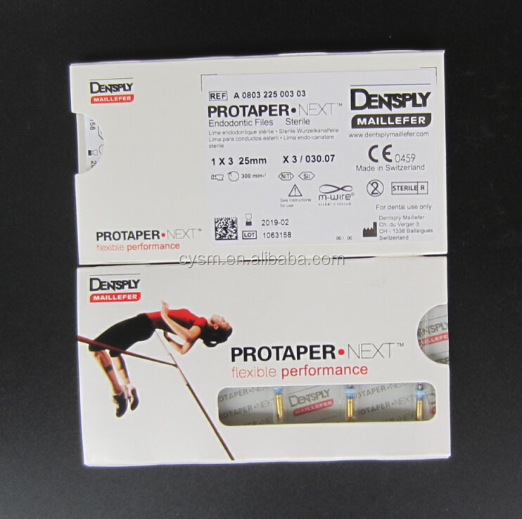 Dentsply Dental Endo Files PROTAPER Next