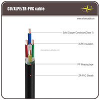 XLPE Insulated Power Cable 0.6/1kV Copper Conductor free sample