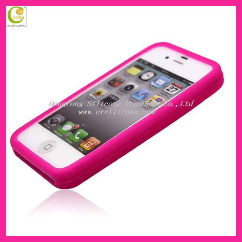 Best quality silicone sublimation case for iphone5,only one color can glowing in the dark