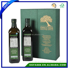 Customized double paper olive packaging box