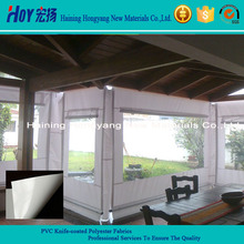 1000D Acrylic Awning Fabric / PVC Coated Polyester Fabric For Awning Making