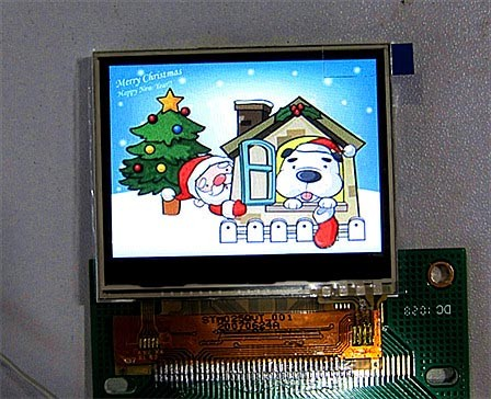 2.36 inch flat screen LCD ILI9481 LCD TFT driver to provide source code