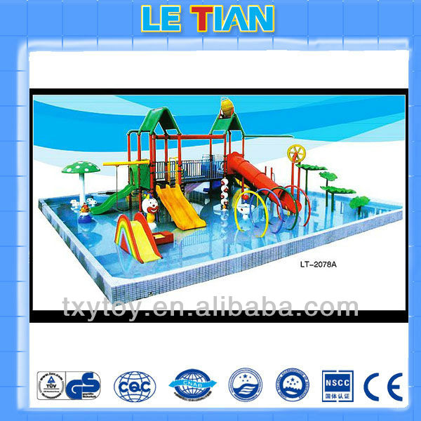 Amusement Water Theme Park Water Slide For Sale LT-2078A