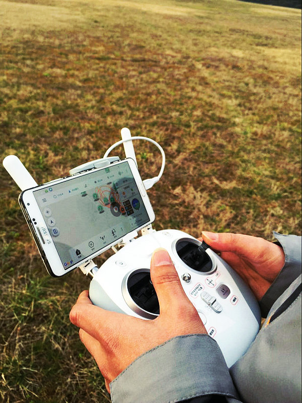 Professional UAV drones ground remote control,datalink 5.8G map transmission remote control three in one