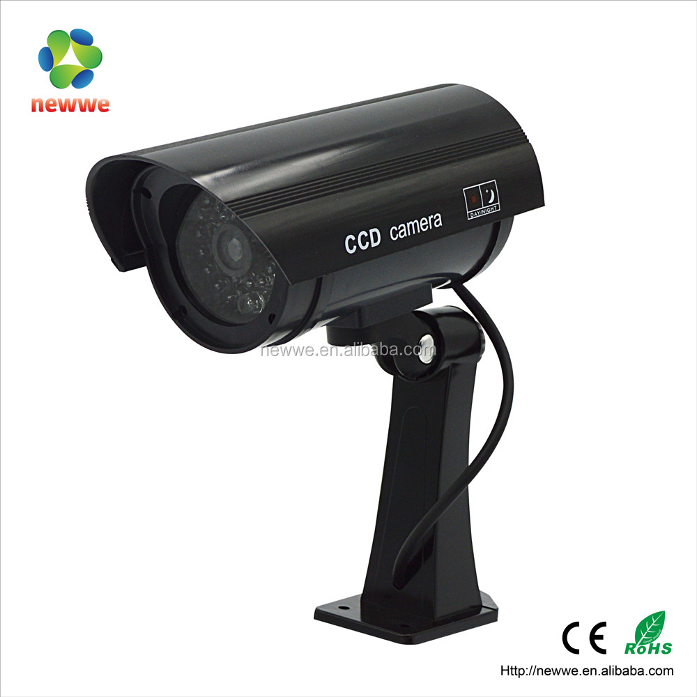 waterproof wireless security fake dummy battery powered cctv camera