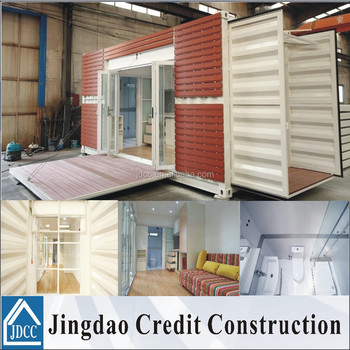 modified container home