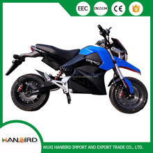Sample racing motorcycle with double disc brake for outdoor sports