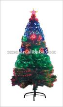 6ft LED artificial fiber optic christmas tree