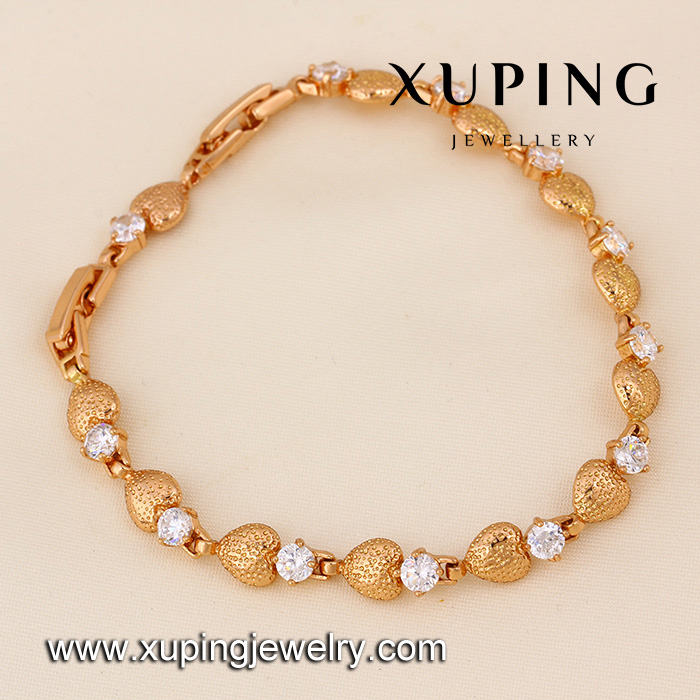 71417-Fashion Jewelry Wholesale Best Selling Natural Zircon Positive Bracelet