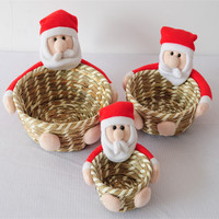 Wicker Christmas Gift Basket Mini Wicker