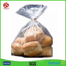 Food packaging low price supermarket use plastic HDPE flat bags on roll