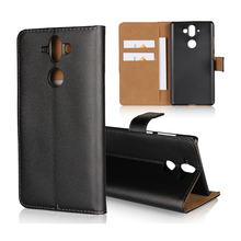 Real Genuine Wallet Leather PC Hard Back Cover Phone Case For Nokia 9 8 7 6 5 3 N1020 N950