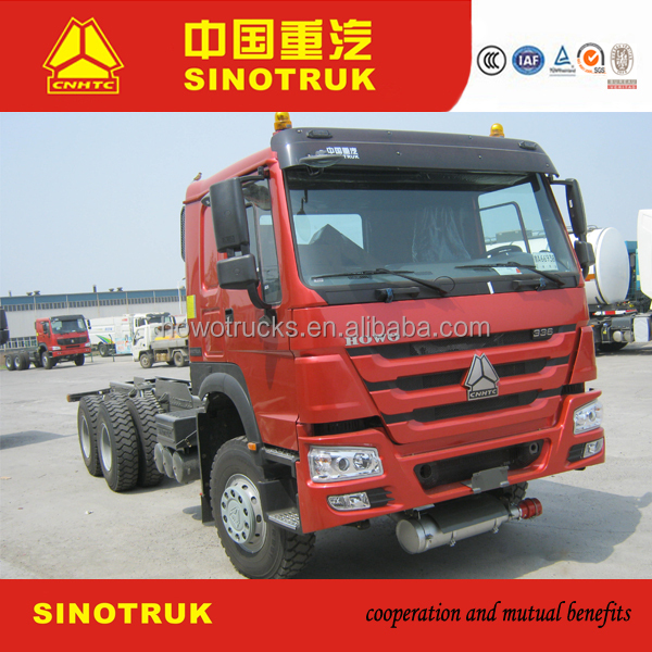 New type HOWO 6X4 fiat tractor truck on sale