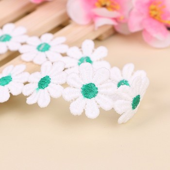 super quality of elegance flower shape lace trim for nigeria wedding and party dress