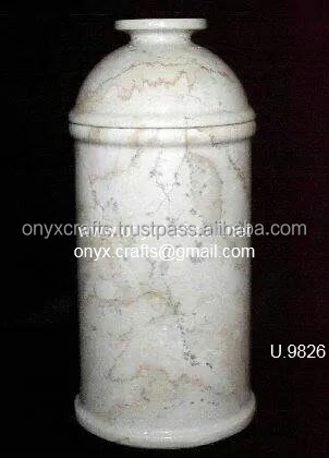 Marble Clyinder Urn in wholesale price