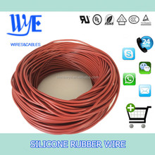 Hot Sell 180 Degree Silicone Jacket 3 cores shield power vde wire silicone cable