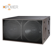 QGS-218 1300W Professional Stage Speaker Sound Box Double 18 Inch Outdoor Subwoofer Box